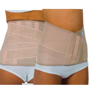 Lumbar Belt with Double Criss Cross Strap