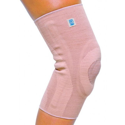 Elastic Patellar Brace With Gussets and Silicone AQTIVO SKIN