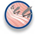 Eπιστραγαλίδα ελαστική με επίθεμα Σιλικόνης AQTIVO SKIN
