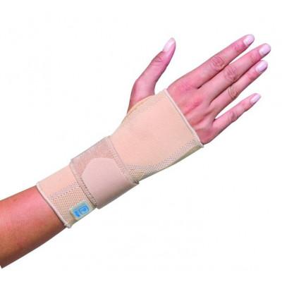 Beige Elastic Wrist Brace AQTIVO SKIN