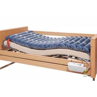 Anti-Decubitus Stripe Mattress with Ventilation, CPR & Air Pump