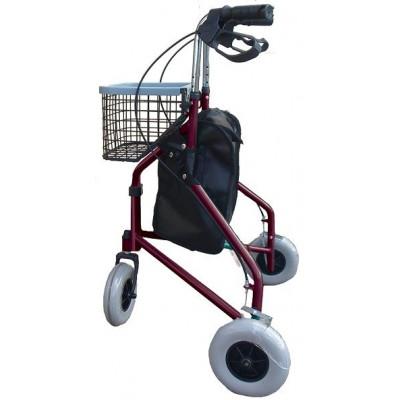 Wheeled walker Rollator 3-wheel