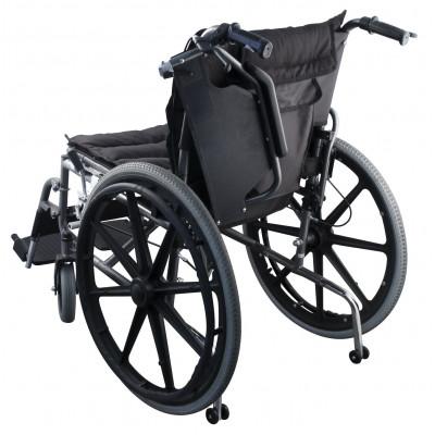 Αναπηρικό αμαξίδιο ενισχυμένο με βοηθητικά ροδάκια Elite