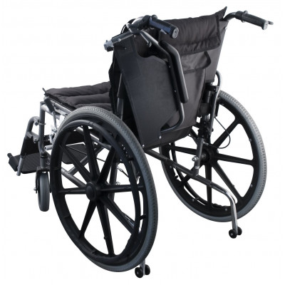 Wheelchair reinforced auxiliary wheels Elite