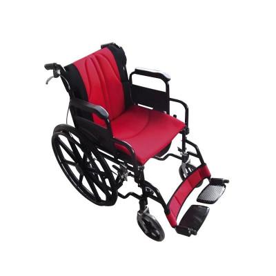 Αναπηρικό αμαξίδιο σειρά Golden, Κόκκινο - Μαύρο