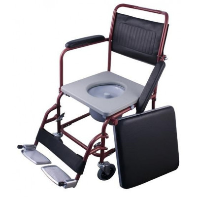 Wheelchair simple type with tank Red