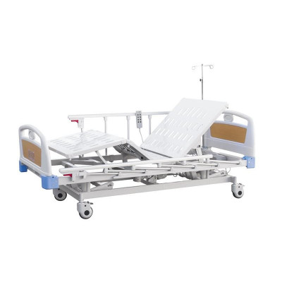 Hospital bed electric hoist