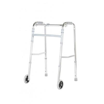 Foldable wheeled Walker