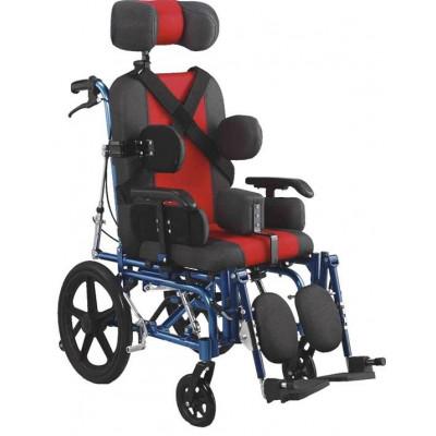 Παιδικό Αναπηρικό Αμαξίδιο Aλουμινίου Τετραπληγίας