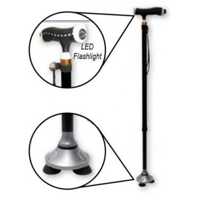 Adjustable with Stand up Base & Led Flashlight