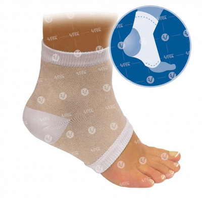 Toeless elastic sock