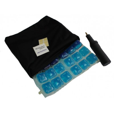 Air seat cushion and gel