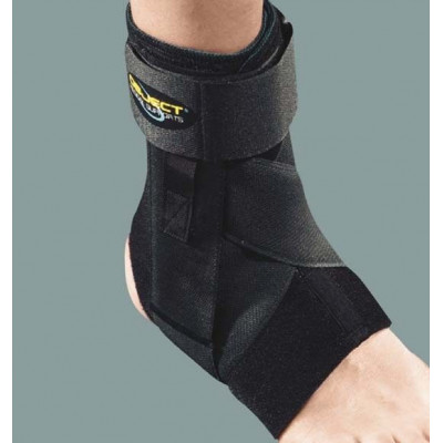 Neoprene elastic support with banels black-block-object