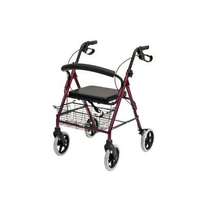 wheeled walker rollator